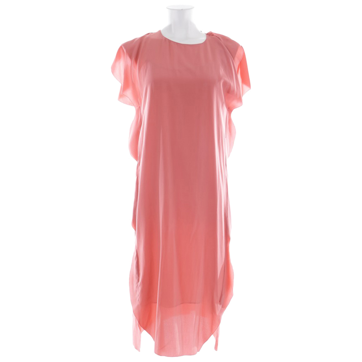 Dorothee Schumacher - Robe   pour femme en soie - rose