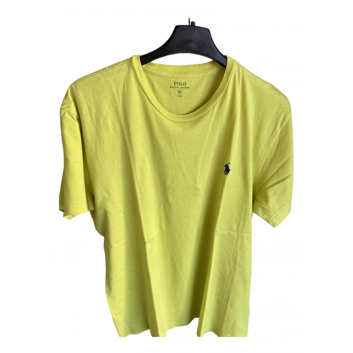 Polo Ralph Lauren \N T-Shirts in  Gelb Baumwolle
