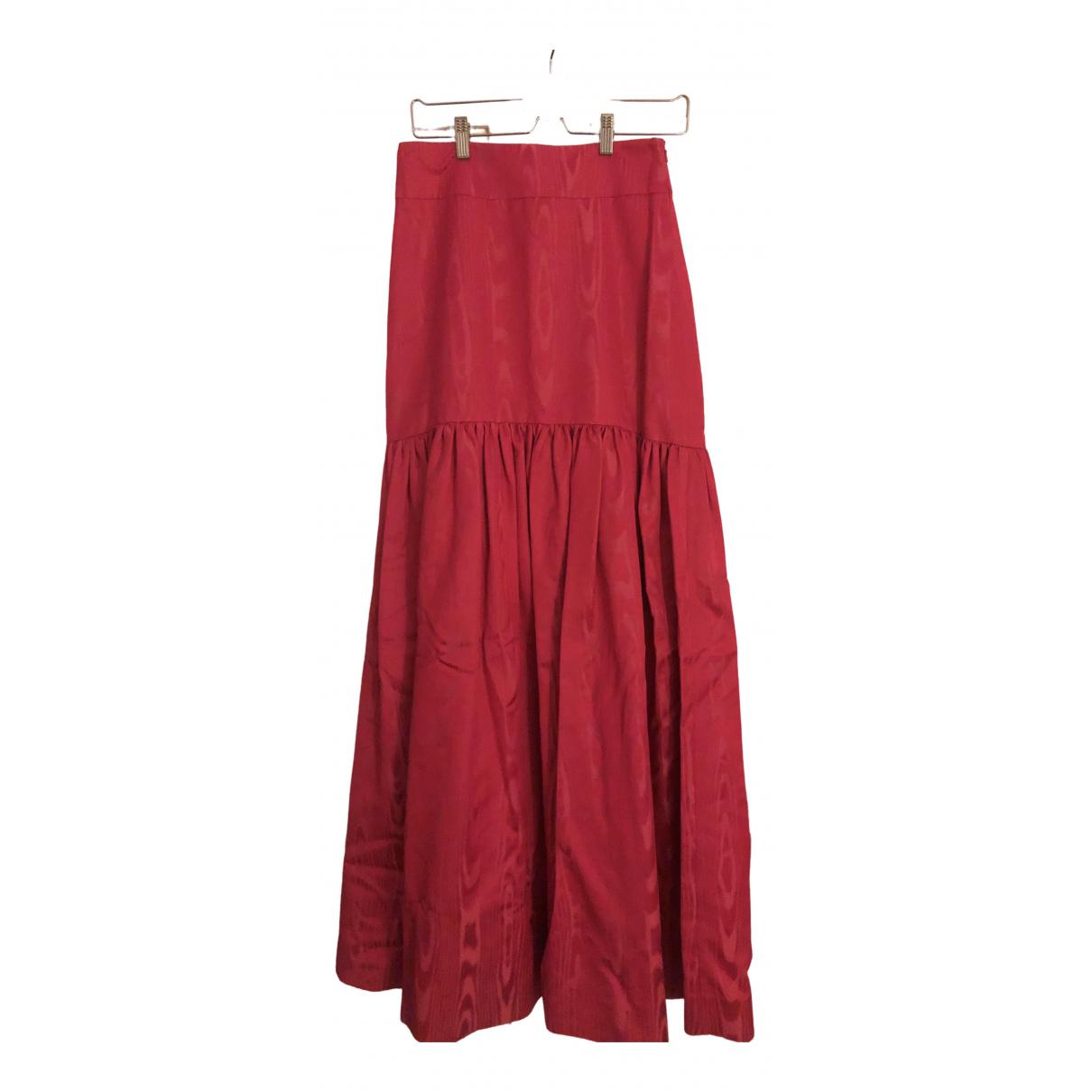 Temperley London \N Pink Cotton skirt for Women 10 UK