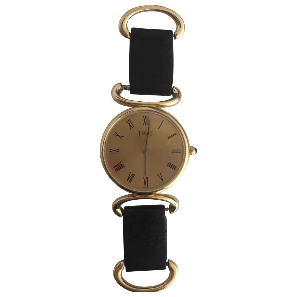 Piaget \N Uhr in  Gold Gelbgold