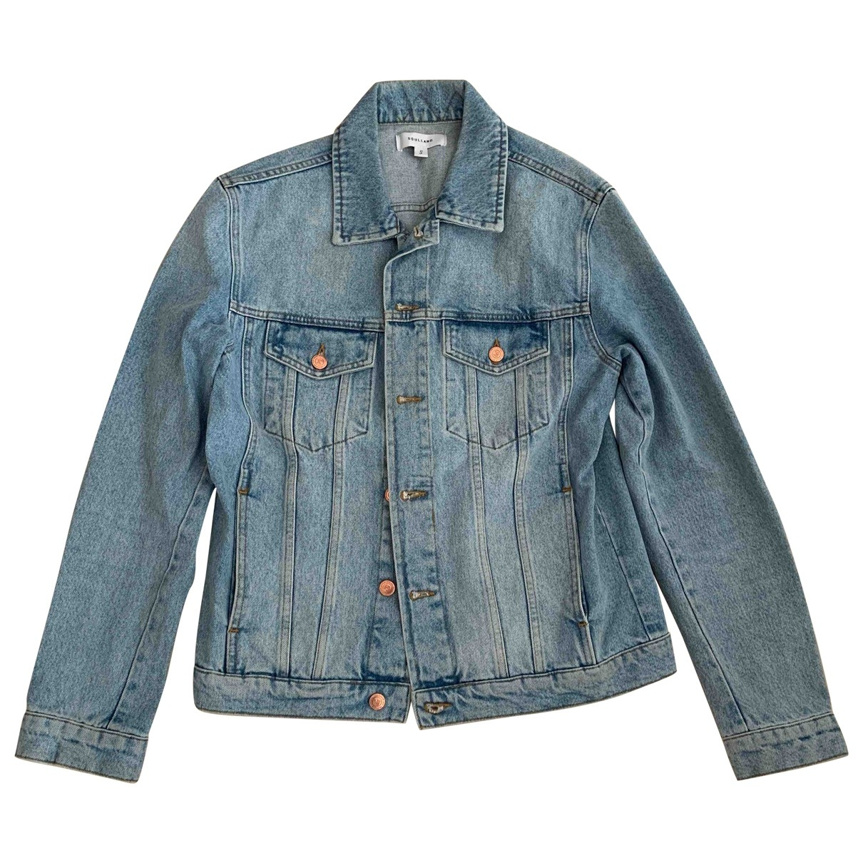 Soulland \N Blue Denim - Jeans jacket  for Men S International