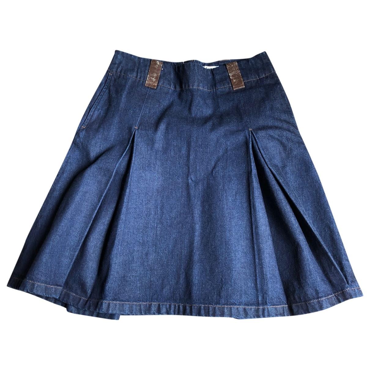 Acne Studios \N Rocke in  Blau Denim - Jeans