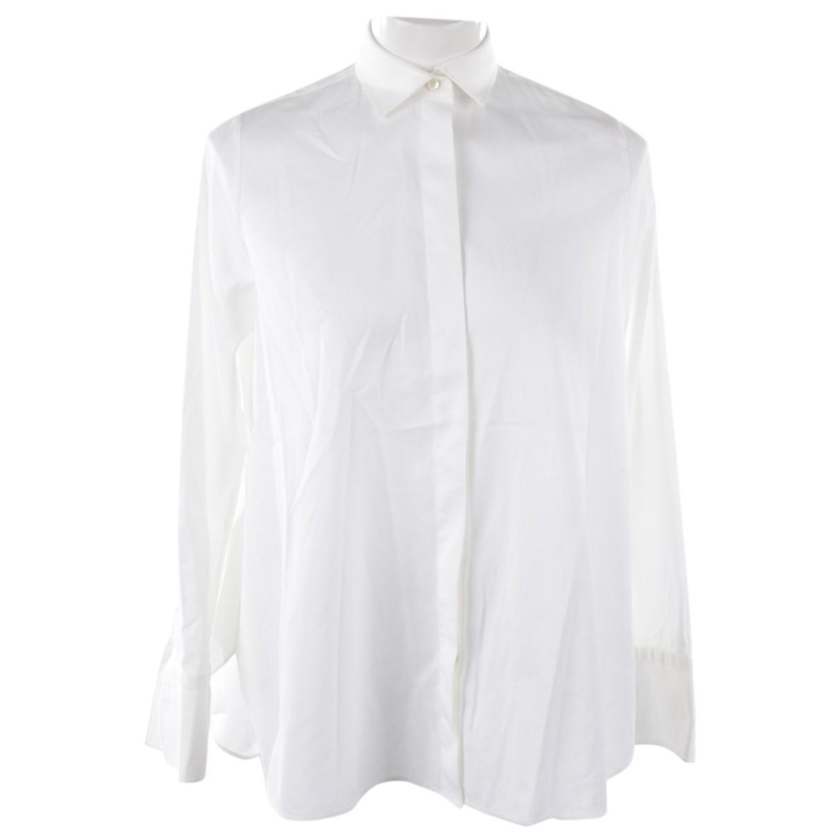 Valentino Garavani - Top   pour femme en coton - blanc