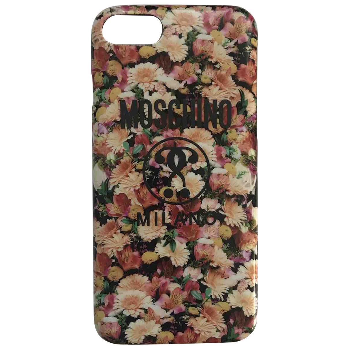Moschino - Bijoux de portable   pour femme en toile - multicolore