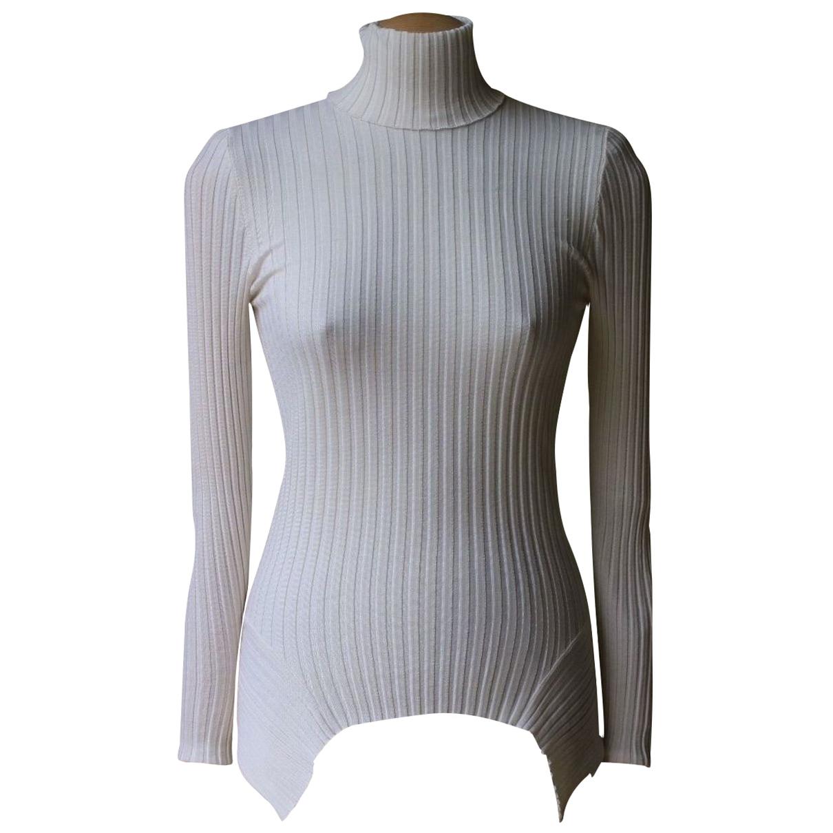 Stella Mccartney N White Wool Knitwear for Women 6 UK