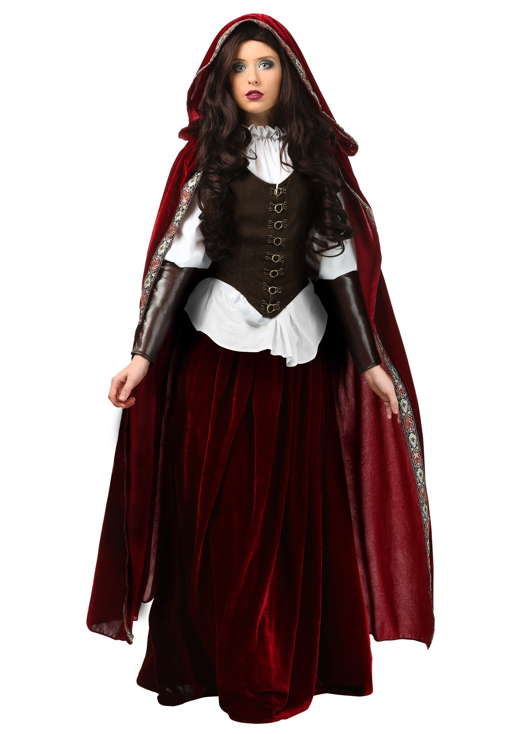 Deluxe Red Riding Hood Plus Size Costume | Exclusive