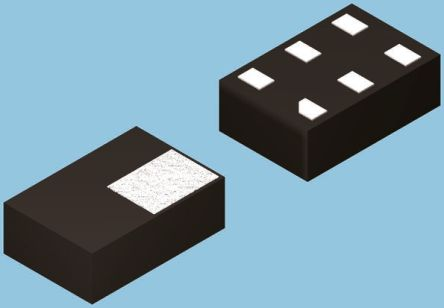 ON Semiconductor FSA4157L6X , Analogue Switch Single SPDT, 1.65 → 5.5 V, 6-Pin MicroPak (20)