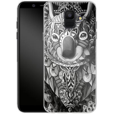 Samsung Galaxy A6 Silikon Handyhuelle - Koala von BIOWORKZ