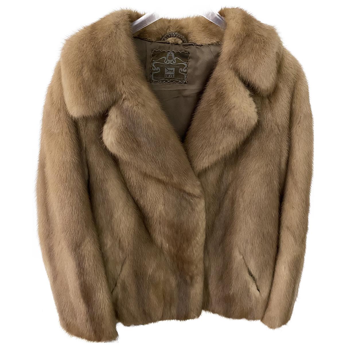 Saga Furs N Beige Mink jacket for Women S International