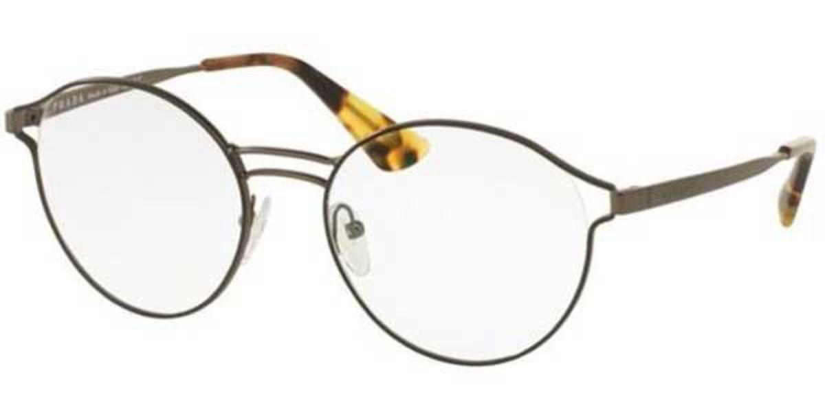 Prada PR62TV VHJ1O1 Women's Glasses Black Size 50 - Free Lenses - HSA/FSA Insurance - Blue Light Block Available