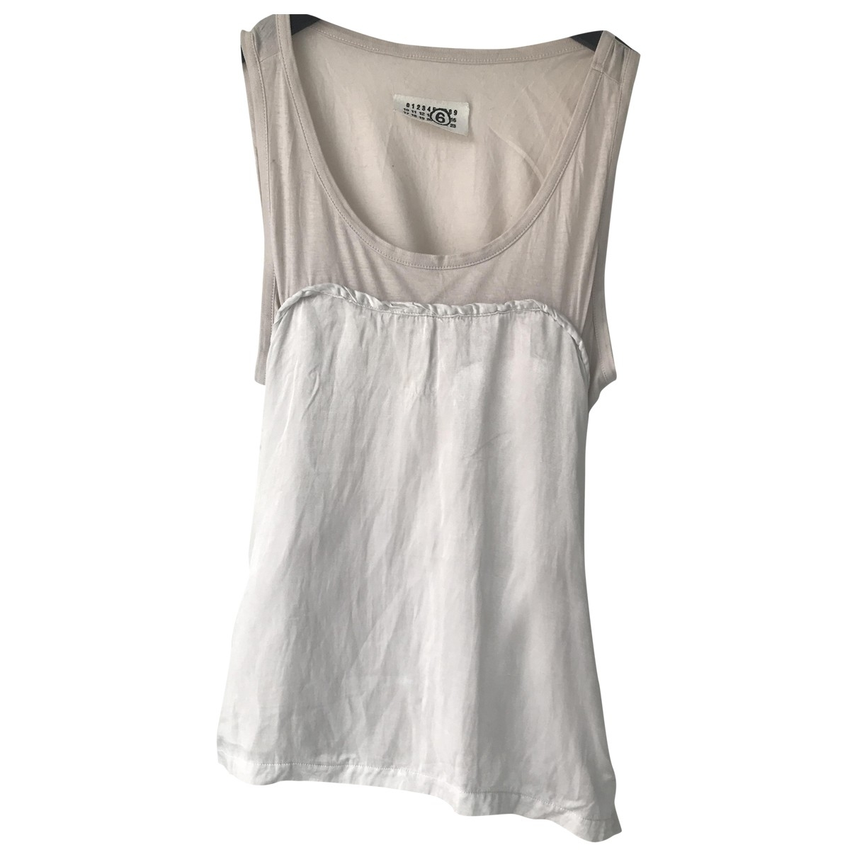 Mm6 \N Cotton  top for Women 42 IT