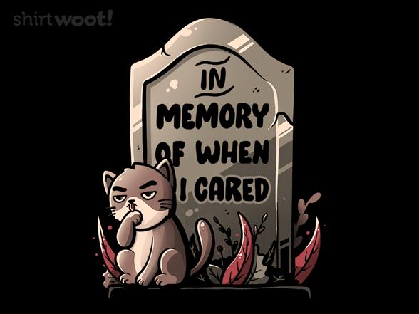 In Memory T Shirt