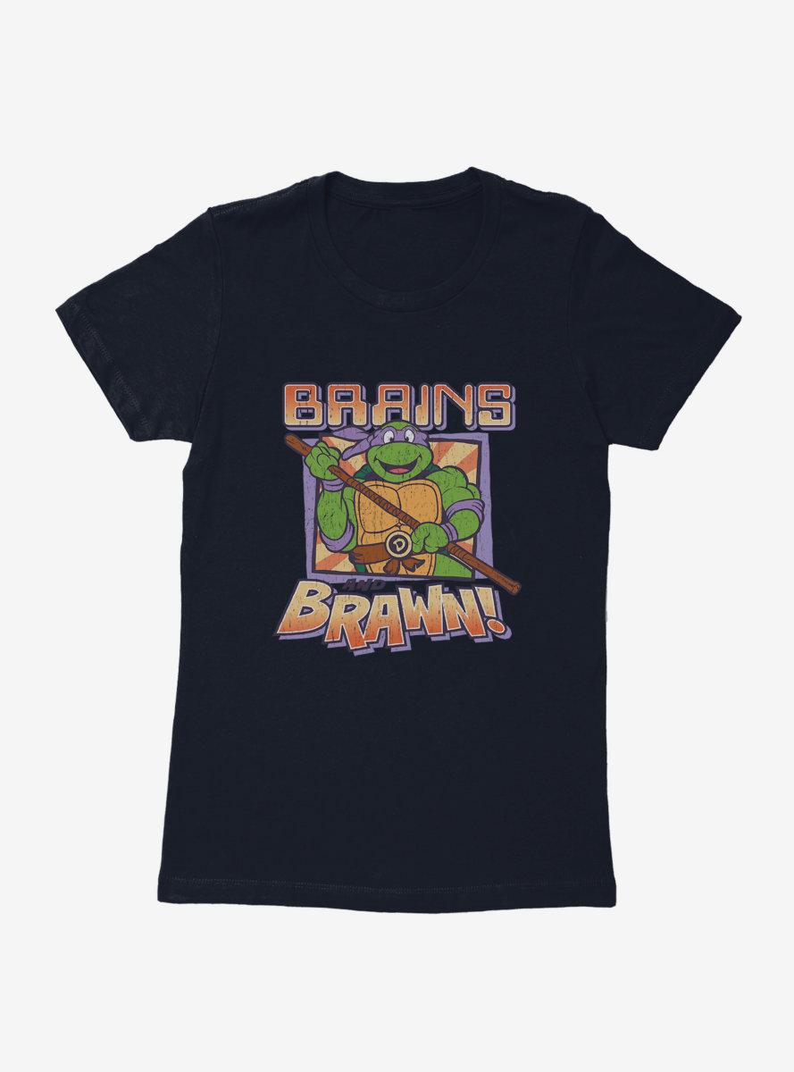 Teenage Mutant Ninja Turtles Donatello Brains And Brawn Womens T-Shirt