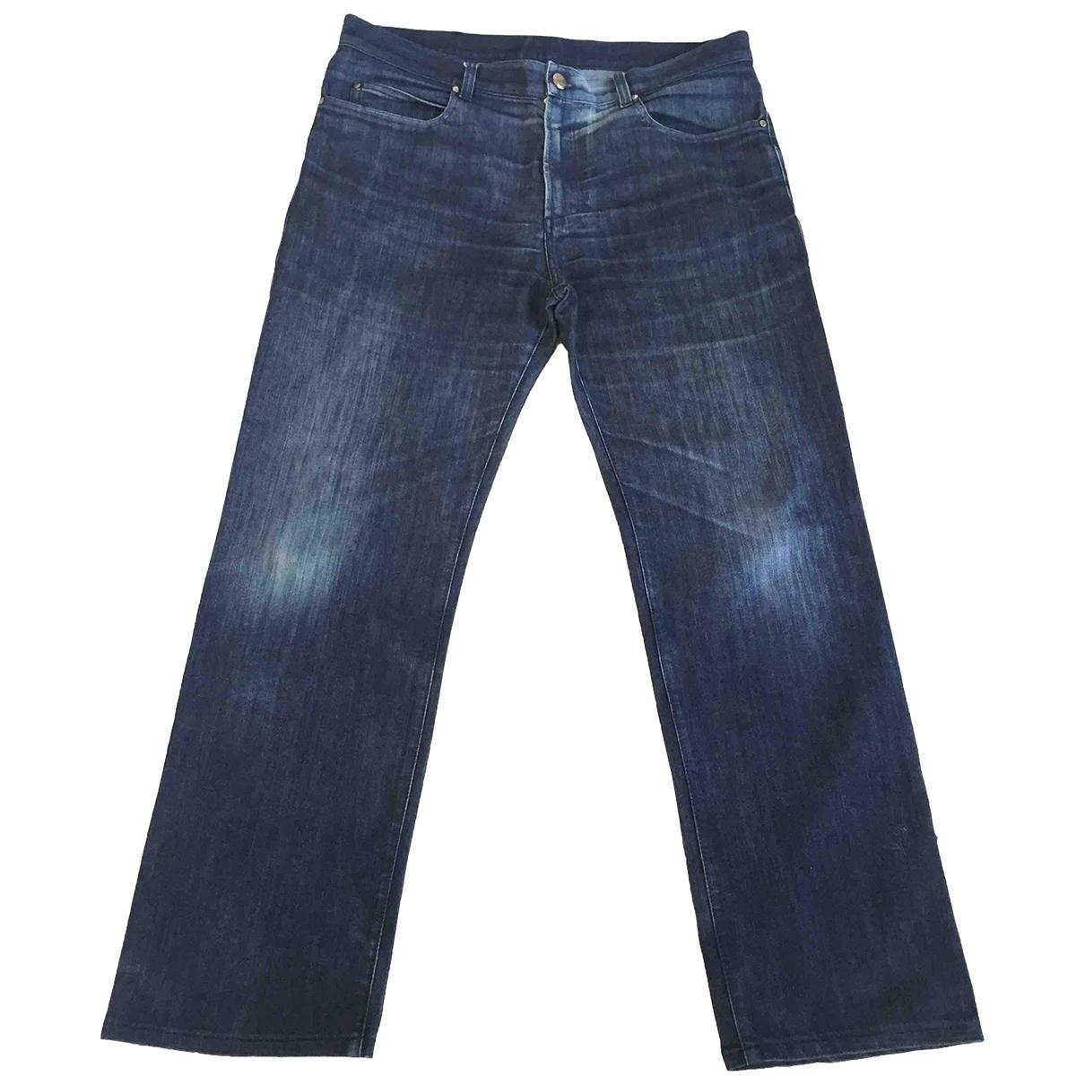 Versace \N Blue Denim - Jeans Jeans for Women 36 FR