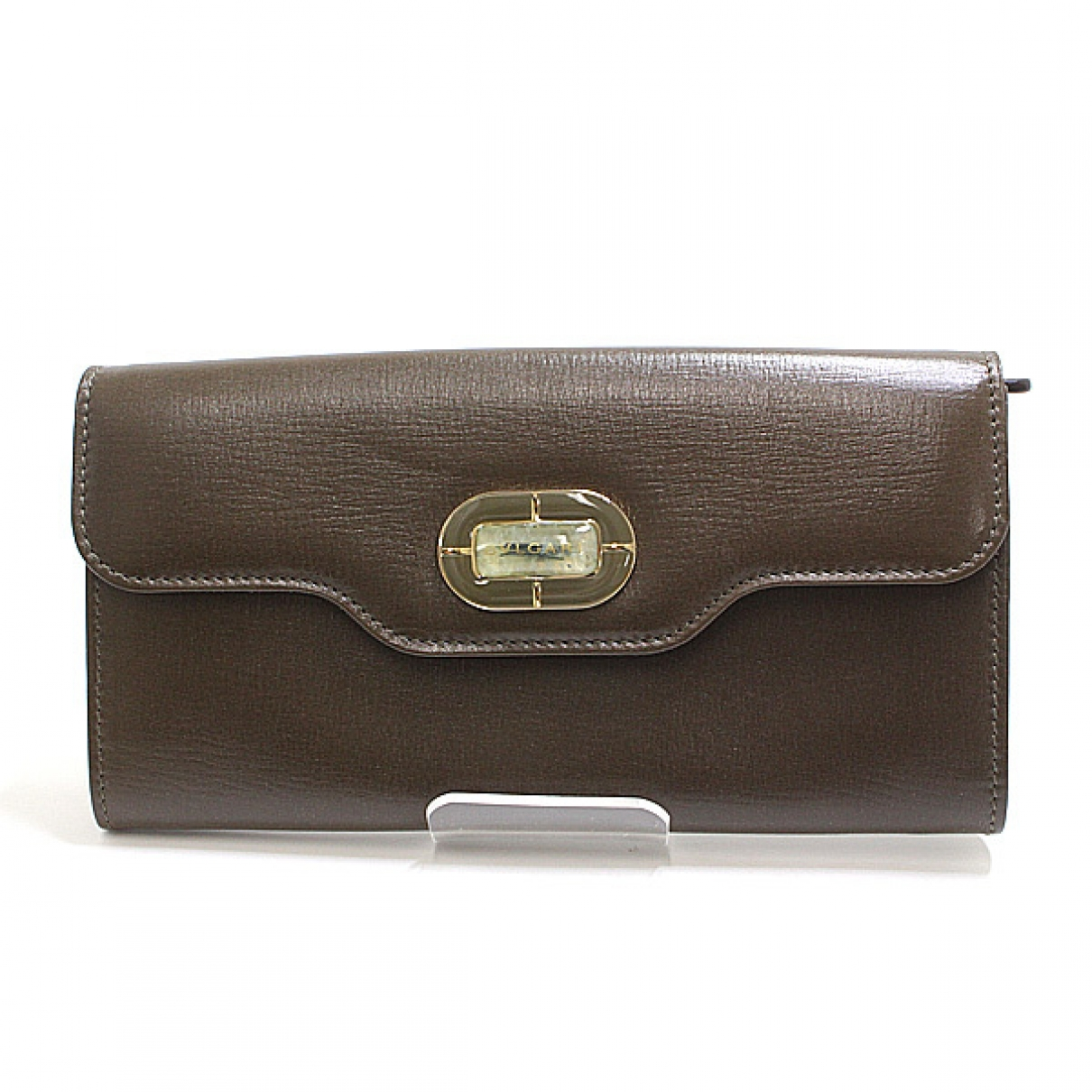 Bvlgari \N Brown Leather wallet for Women \N
