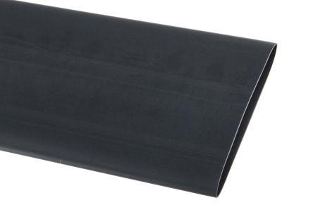 TE Connectivity Heat Shrink Tubing, Black 38mm Sleeve Dia. x 1.2m Length 2:1 Ratio, CGPT Series