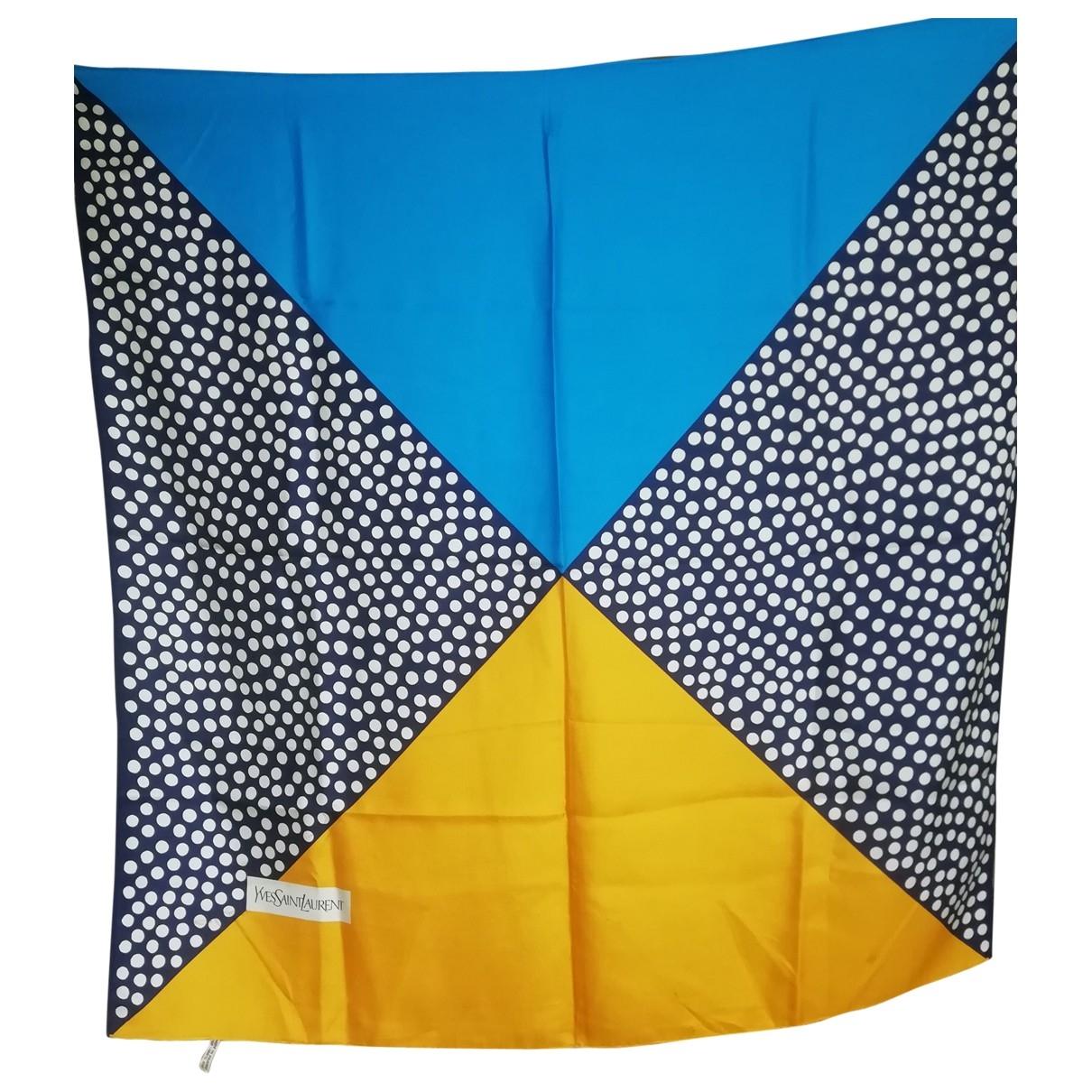 Yves Saint Laurent - Foulard   pour femme en soie - multicolore