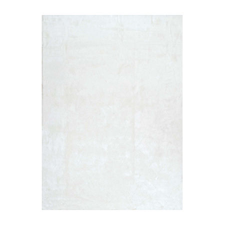 nuLoom Cloud Shag Rug, One Size , White