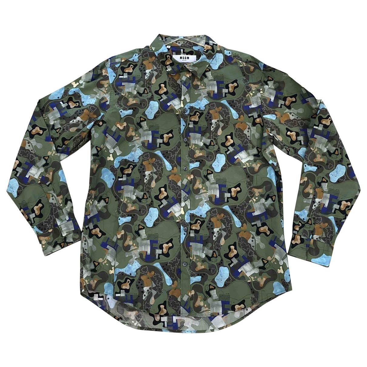 Msgm \N Hemden in  Bunt Baumwolle