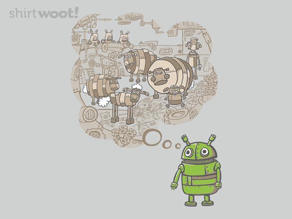 Android Dreams T Shirt