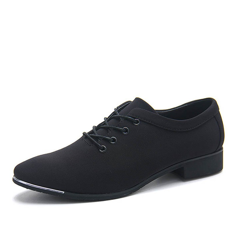 Ericdress Square Toe Cross Strap Pointed Toe Men's Oxfords