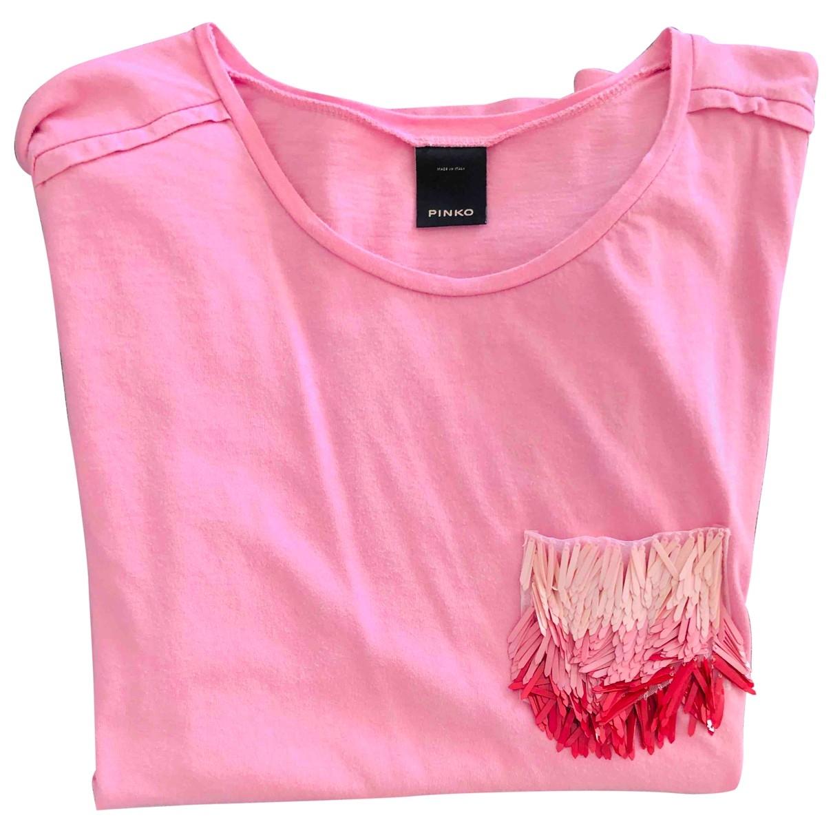 Pinko \N Pink Cotton  top for Women M International