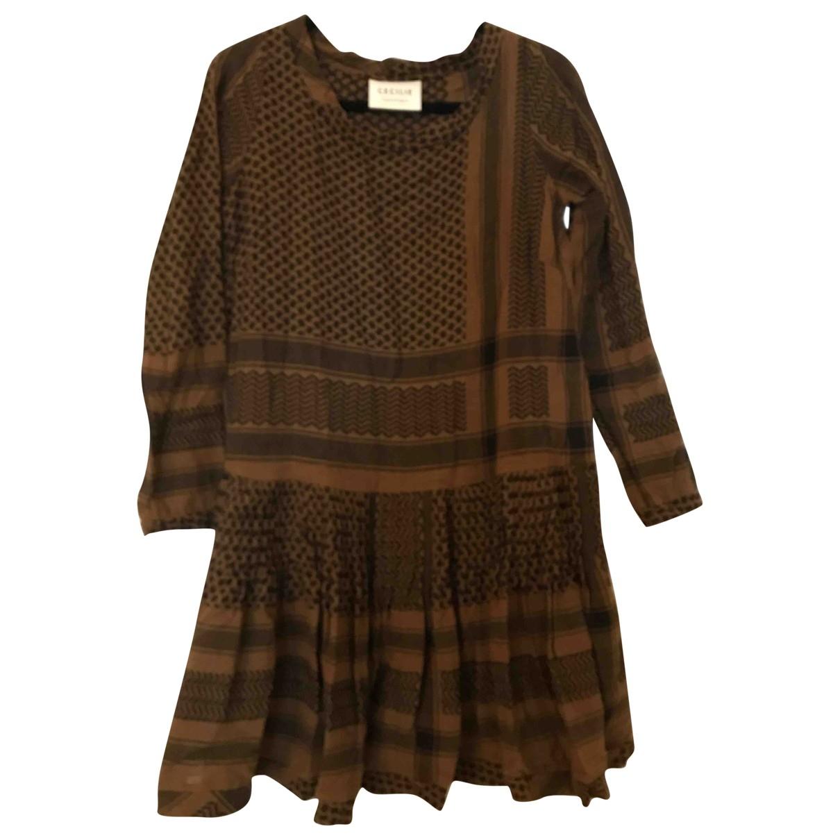 Cecilie Copenhagen \N Brown Cotton dress for Women XS International