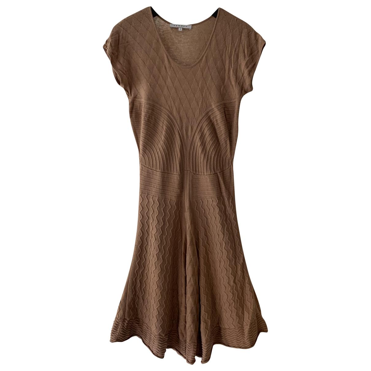 Sandro \N Kleid in  Kamel Wolle