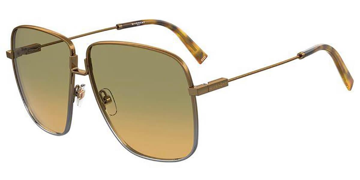 Givenchy GV 7183/S NCJ/EG Mens Sunglasses Brown Size 63