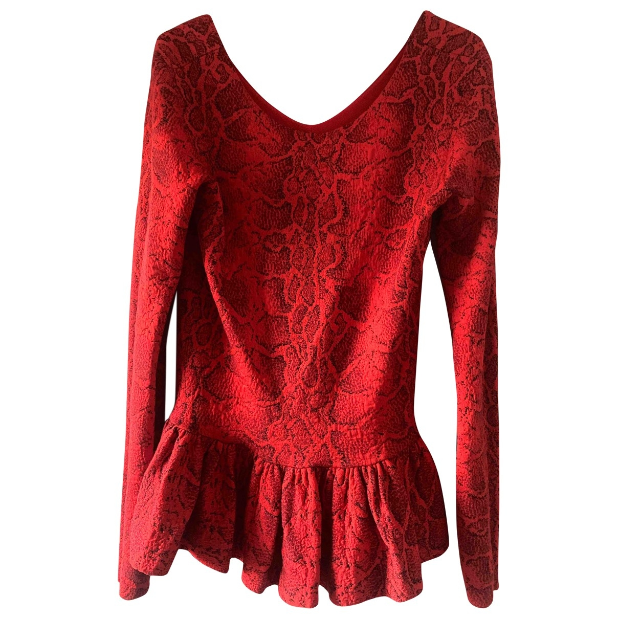 Chloe - Pull   pour femme - rouge