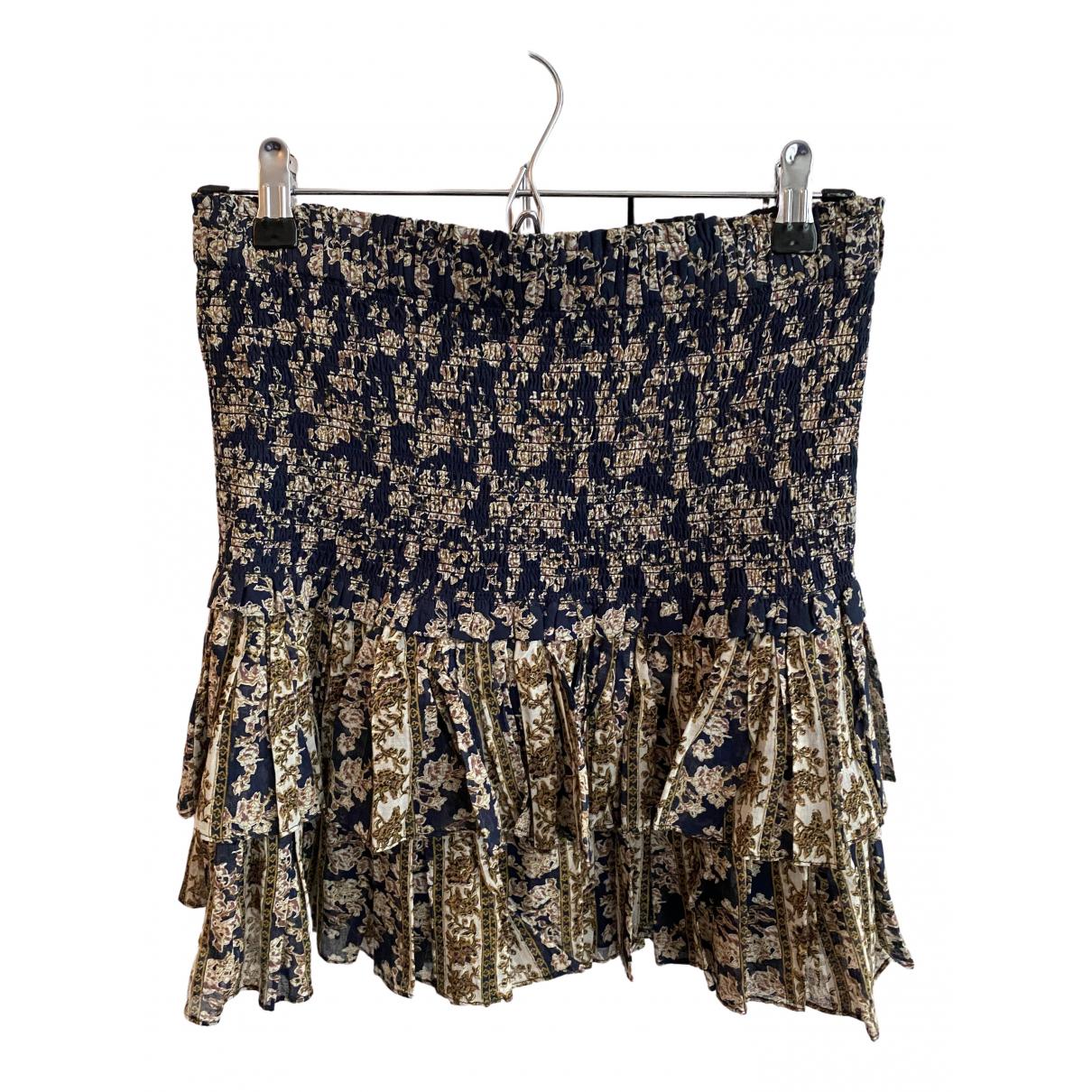 Isabel Marant Etoile N Blue Cotton skirt for Women 40 FR