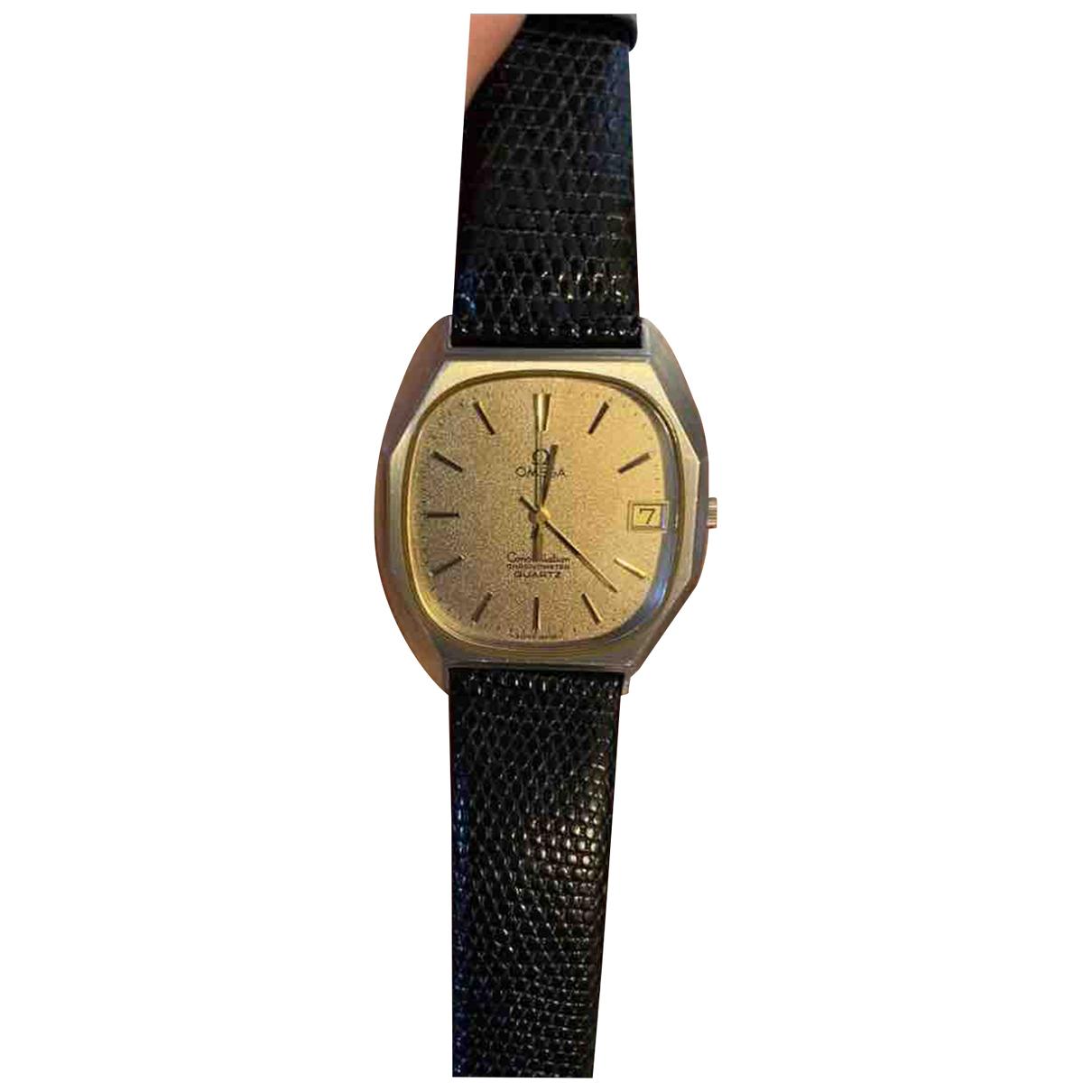 Omega Constellation Uhr in  Gold Stahl