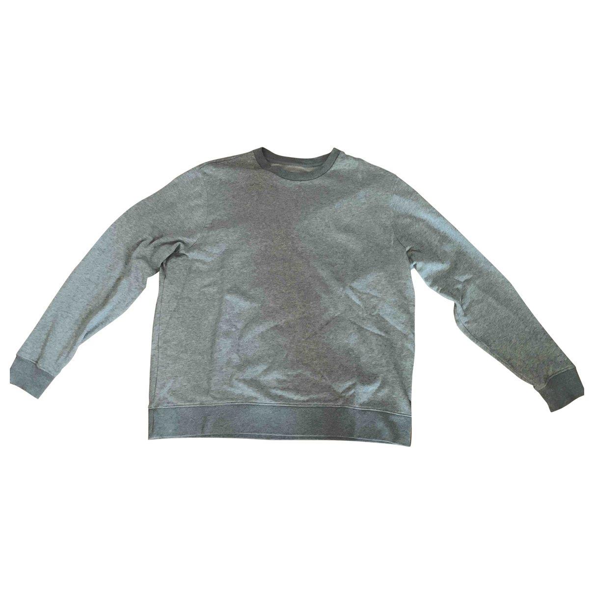 All Saints \N Pullover.Westen.Sweatshirts  in  Grau Baumwolle