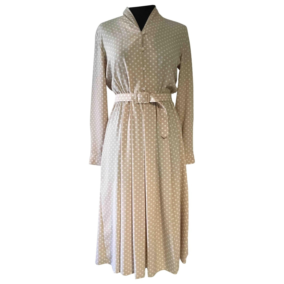 Non Signé / Unsigned \N Beige dress for Women 10 UK