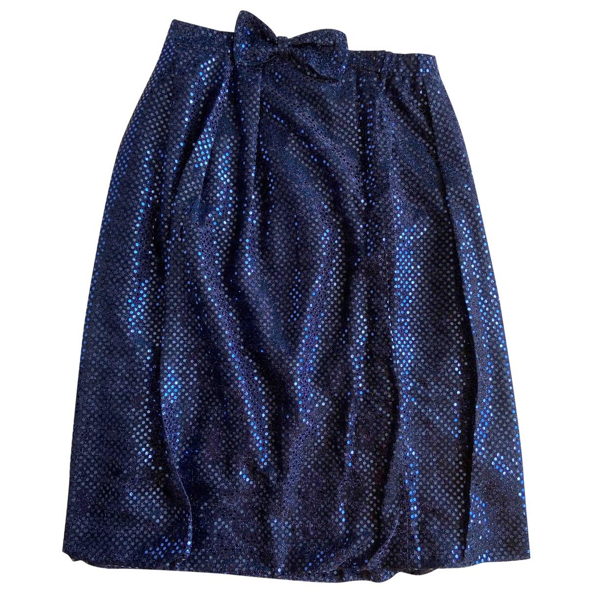 Les Prairies De Paris \N Kleid in  Blau Synthetik