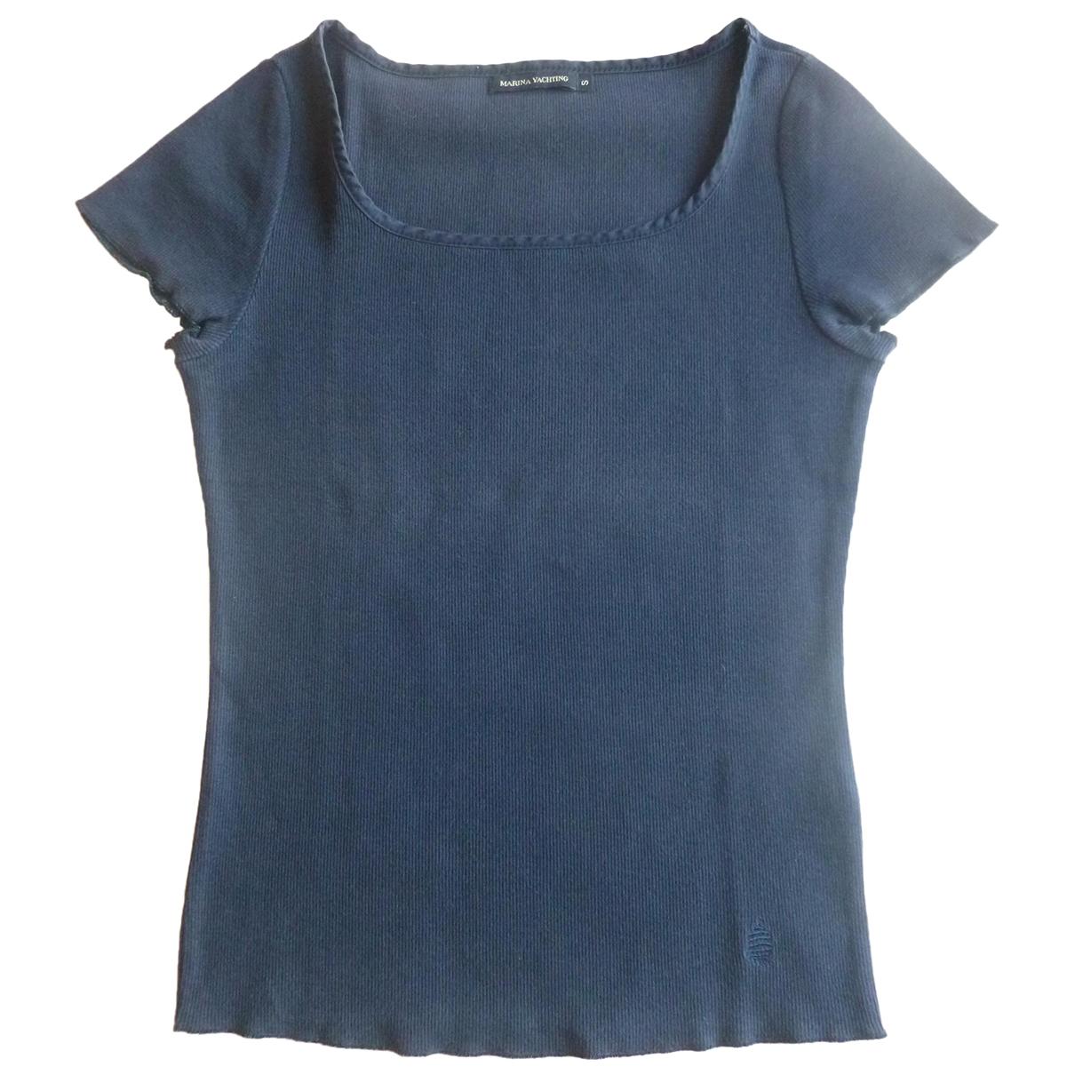 Marina Yachting - Top   pour femme en coton - bleu