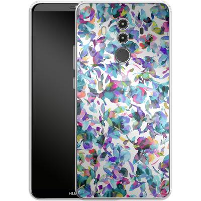 Huawei Mate 10 Pro Silikon Handyhuelle - Aquatic Flowers Blue von Ninola Design