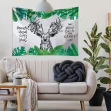 Deer Print Tapestry