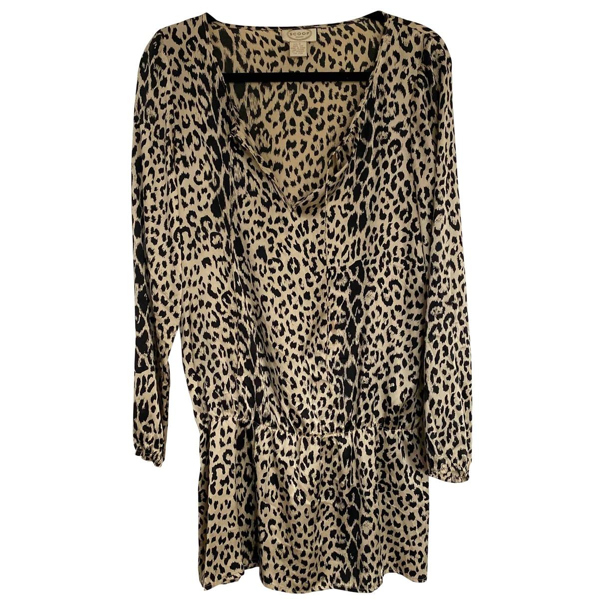 Scoop \N Multicolour Silk dress for Women M International