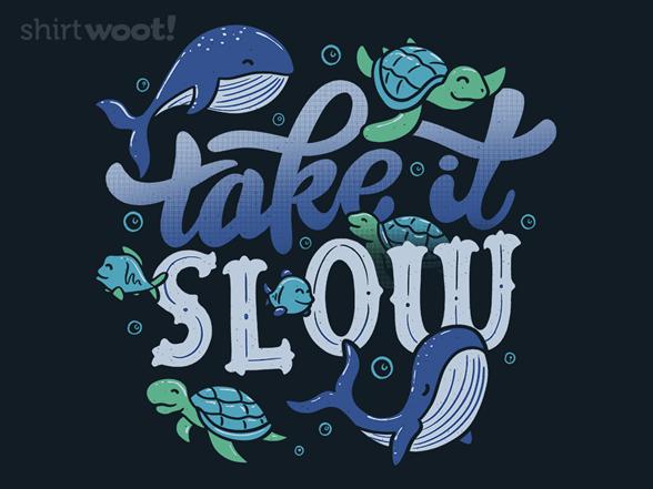 Take It Slow T Shirt