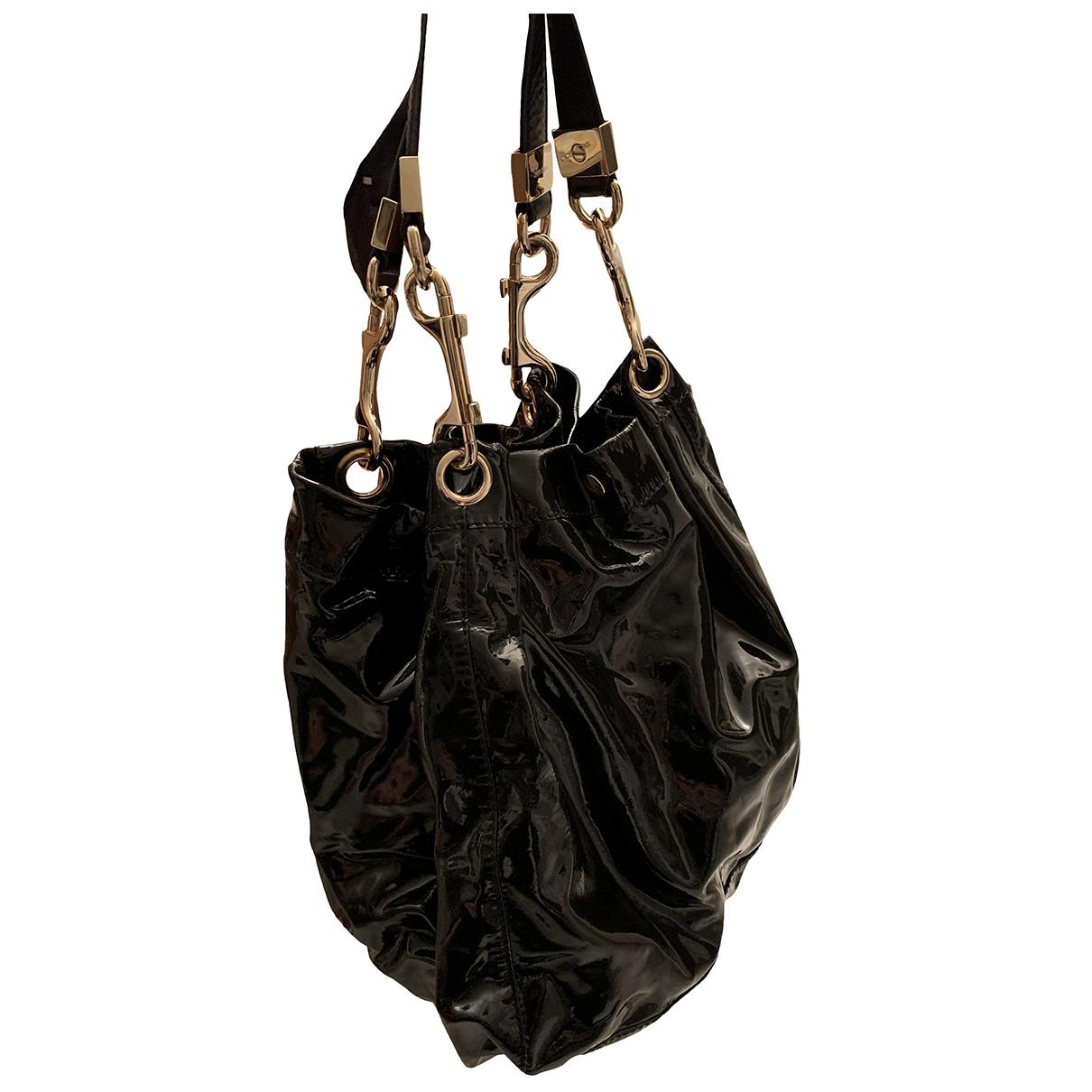 Jimmy Choo \N Handtasche in  Schwarz Leder