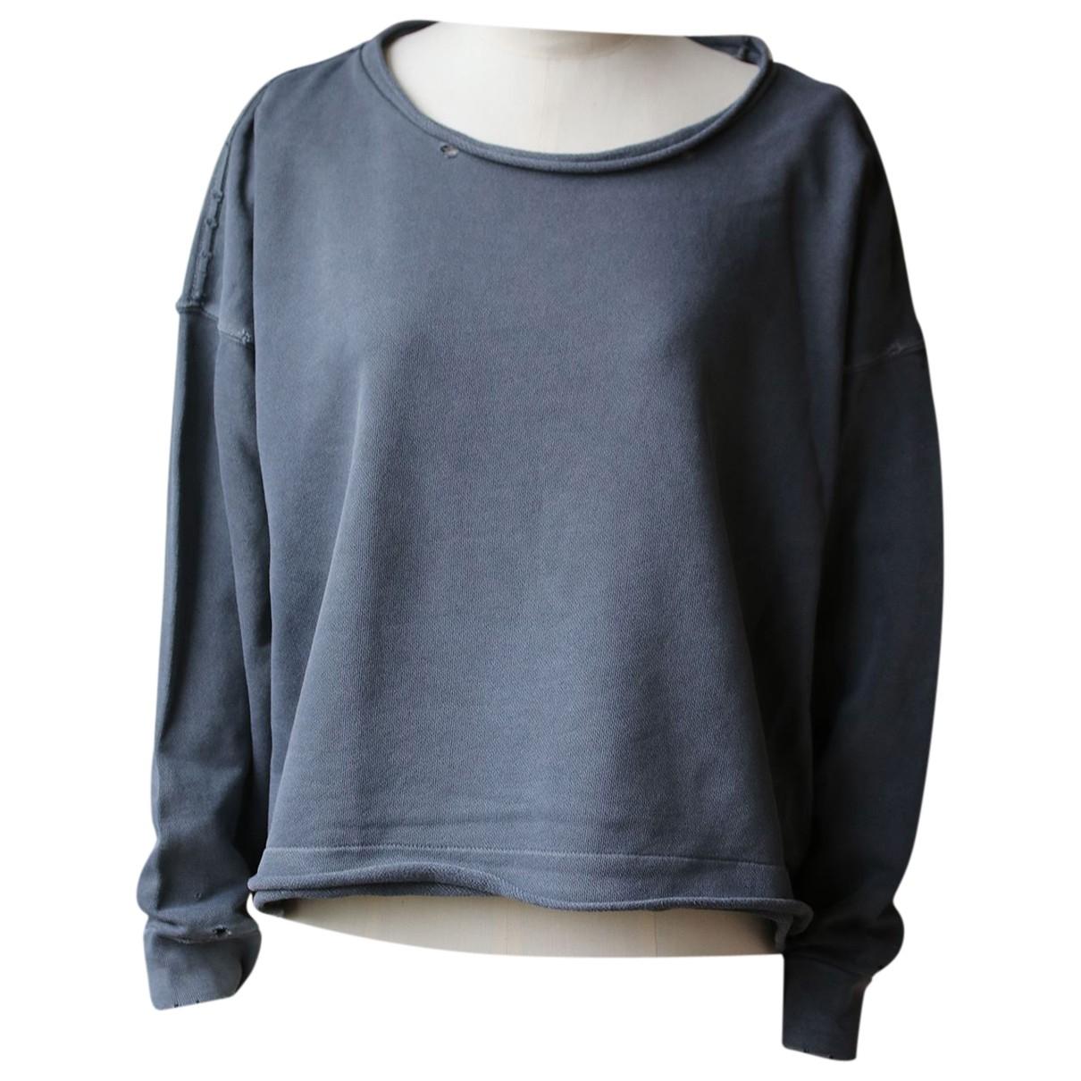 Autre Marque - Pull   pour femme en coton - gris