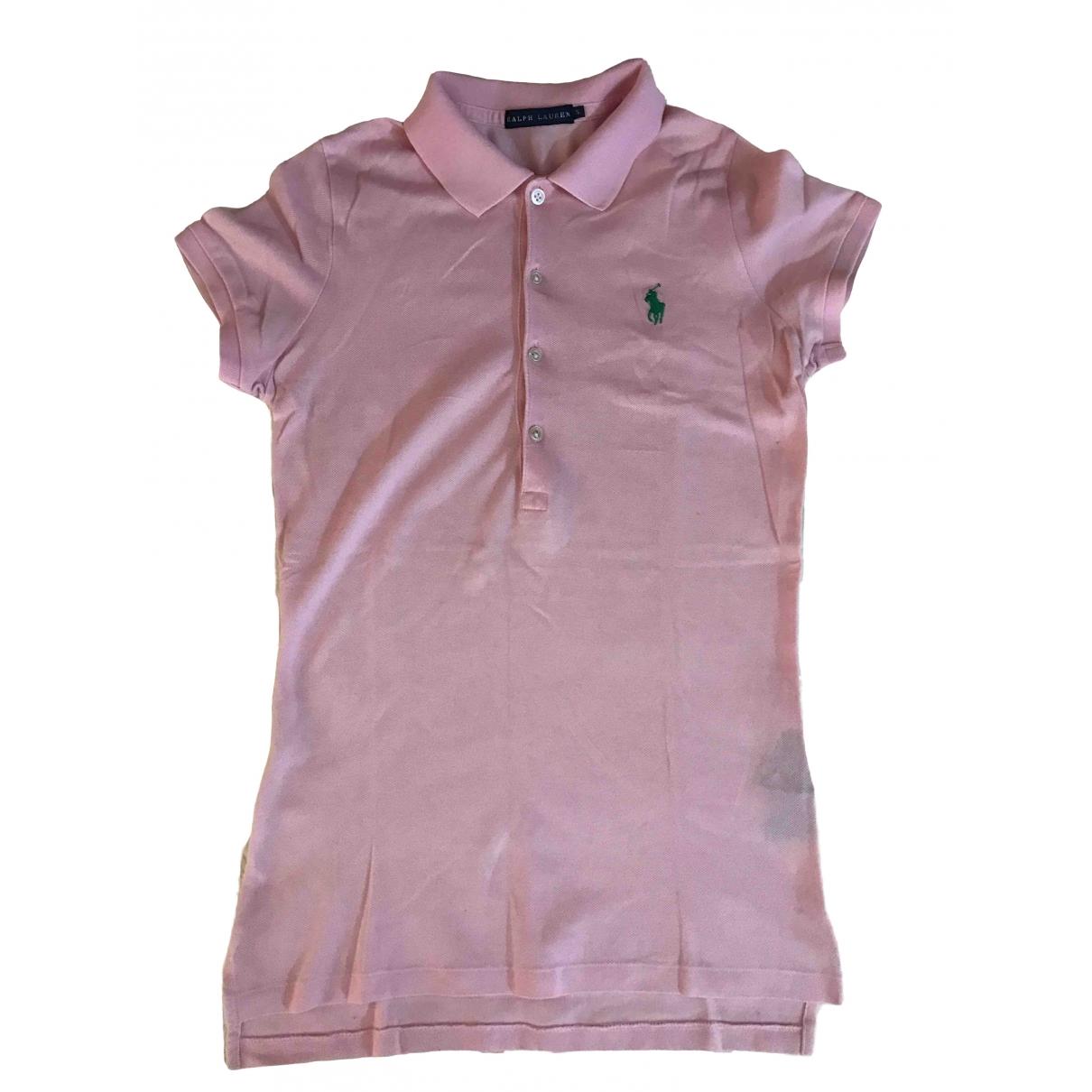 Ralph Lauren \N Pink Cotton  top for Women S International
