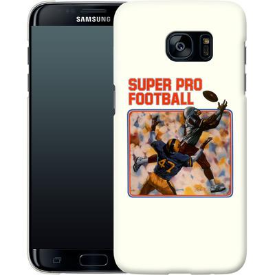 Samsung Galaxy S7 Edge Smartphone Huelle - Super Pro Football von Intellivision®