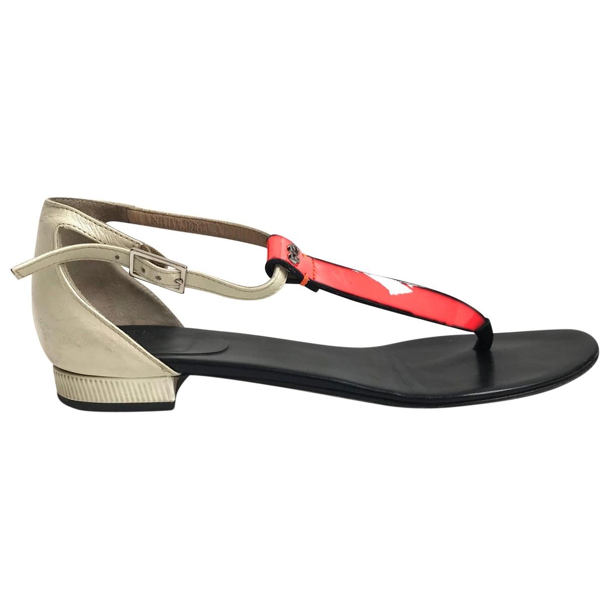 Escada \N Multicolour Leather Sandals for Women 37 EU