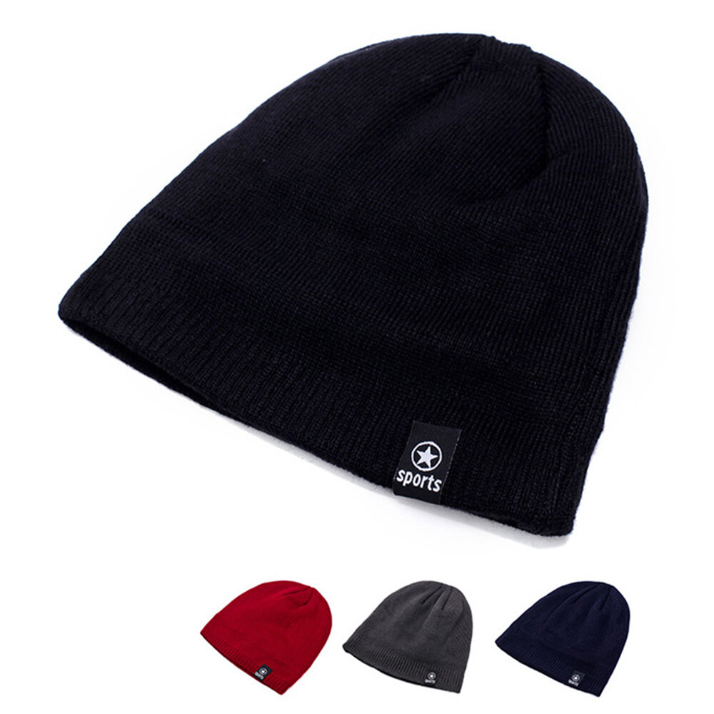 Knitted Beanie Outdoor Wool Knitted Fashion Casual Hat
