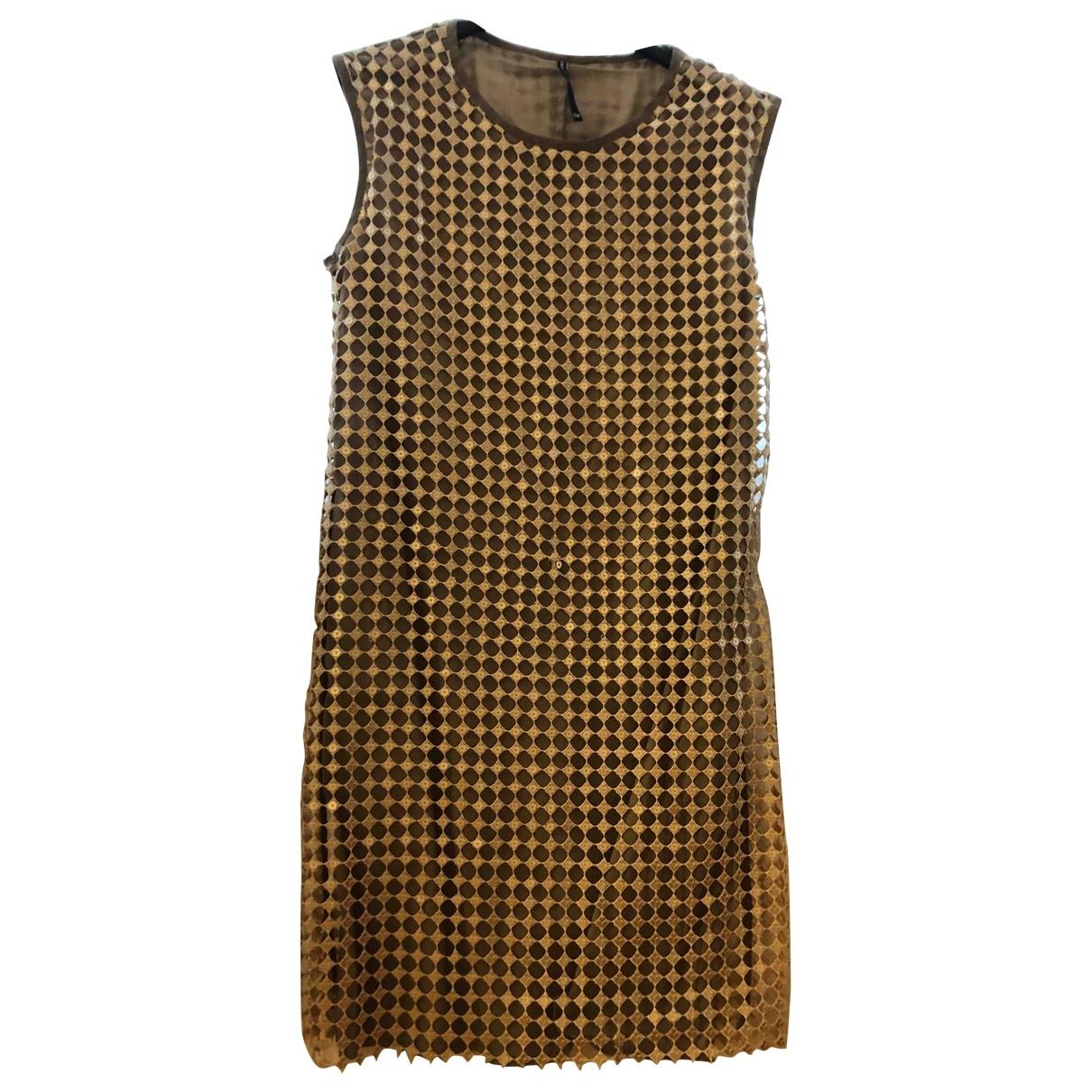 Liviana Conti \N Gold dress for Women 40 IT