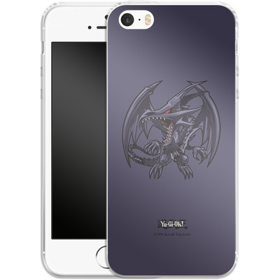 Apple iPhone 5 Silikon Handyhuelle - Red-Eyes B. Dragon SD von Yu-Gi-Oh!