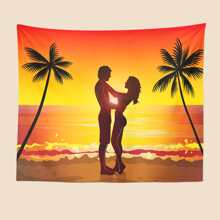 Sunset View Print Tapestry