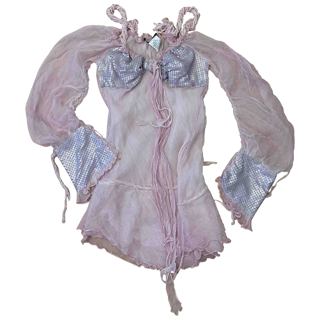 Ermanno Scervino \N Pink Silk  top for Women 40 IT